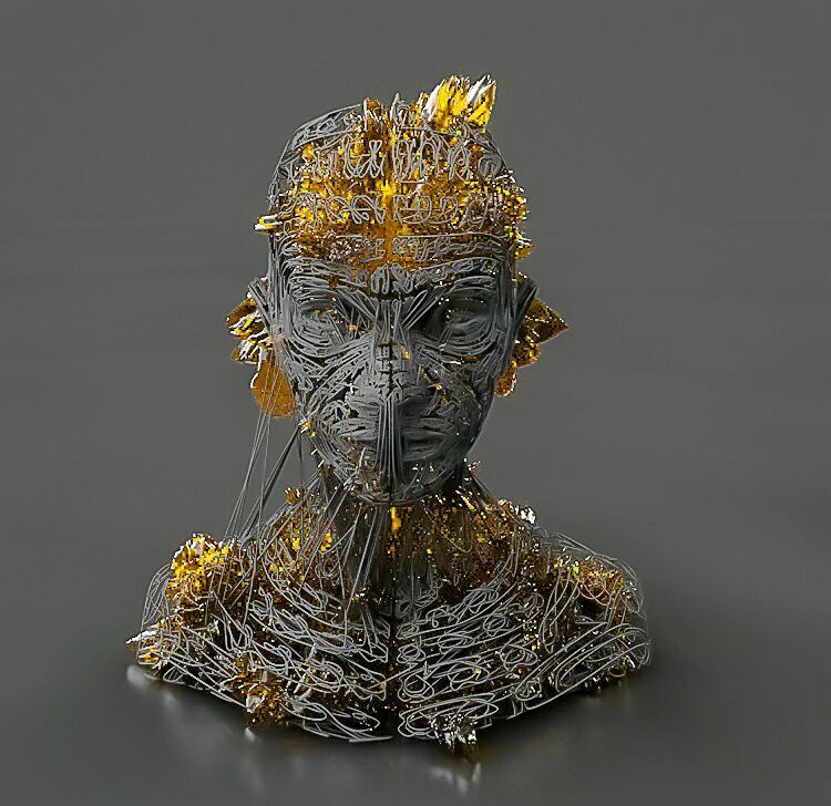 Abstract-3D-Head