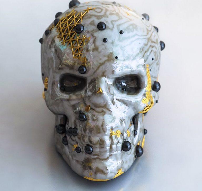 Abstract-Skull