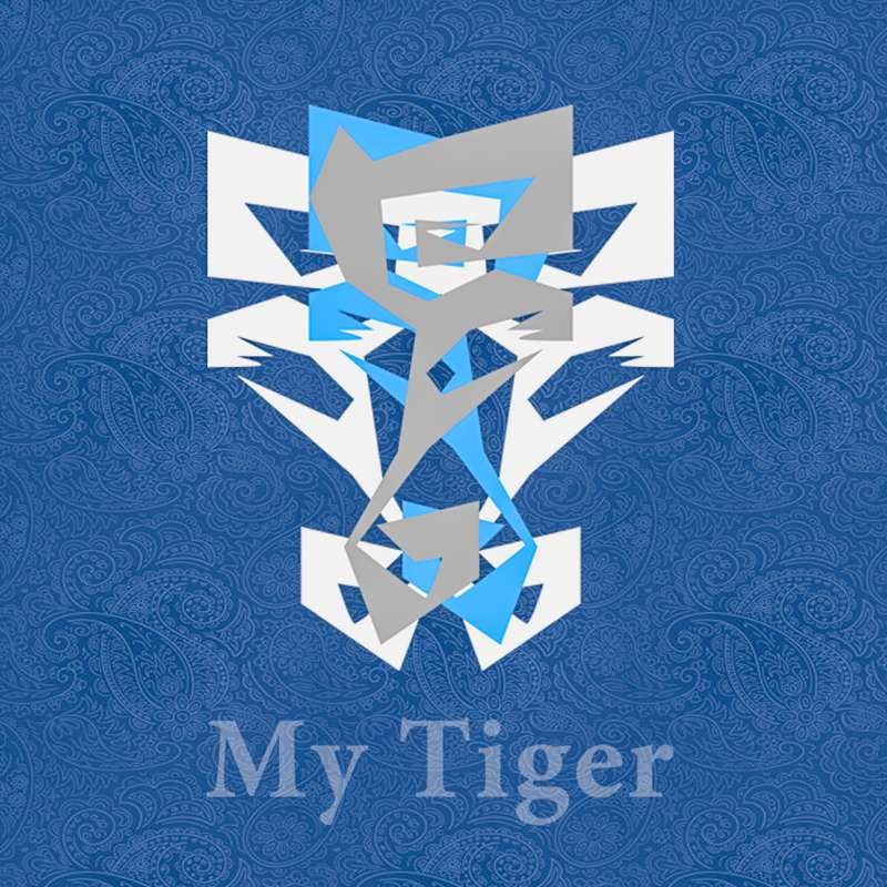 Abstract-Tiger
