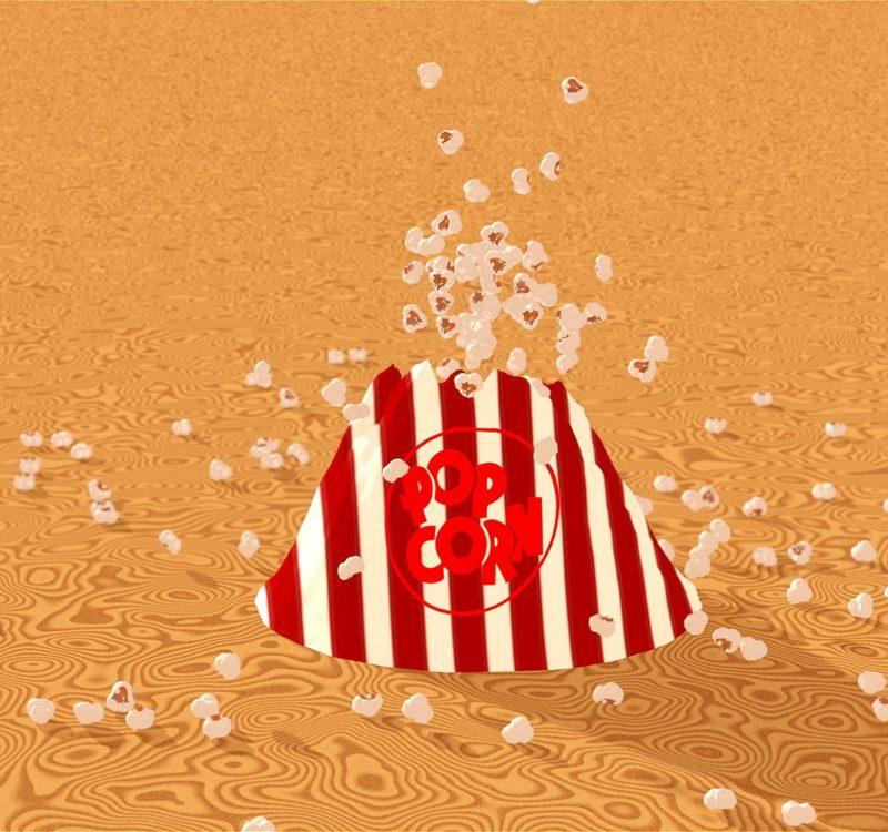 Popcorn-Volcano