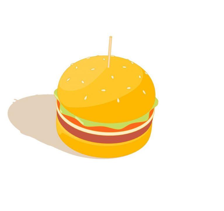 Morphing-Burger-Pineapple