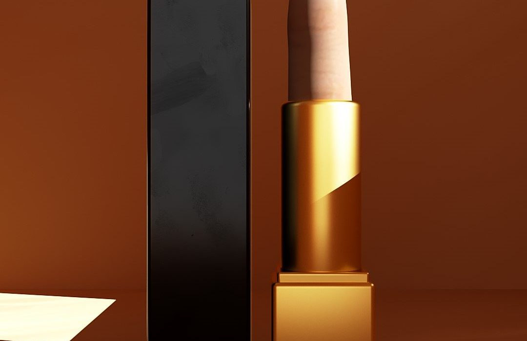 Chanel-Finger-Lipstick