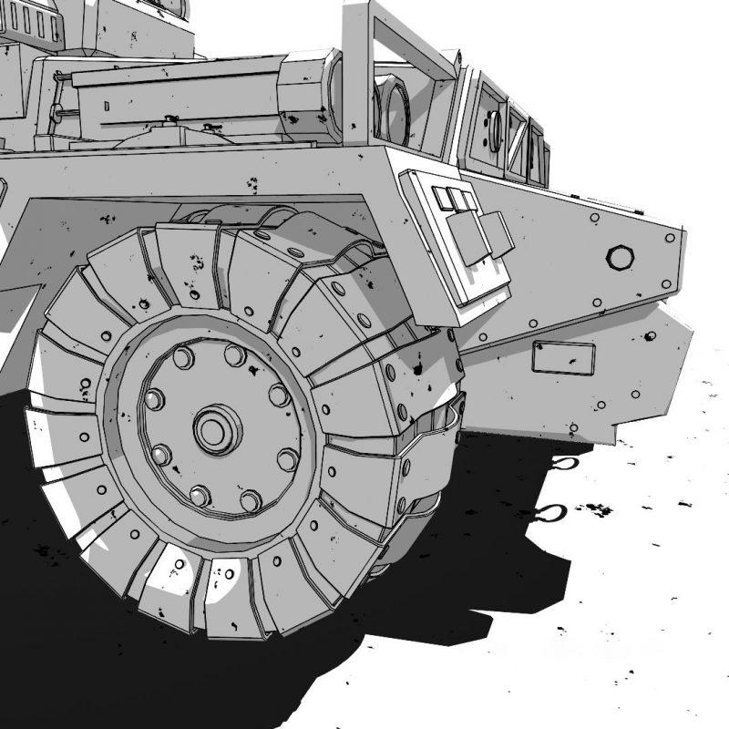 Tank-Arnold-Toon-Shader